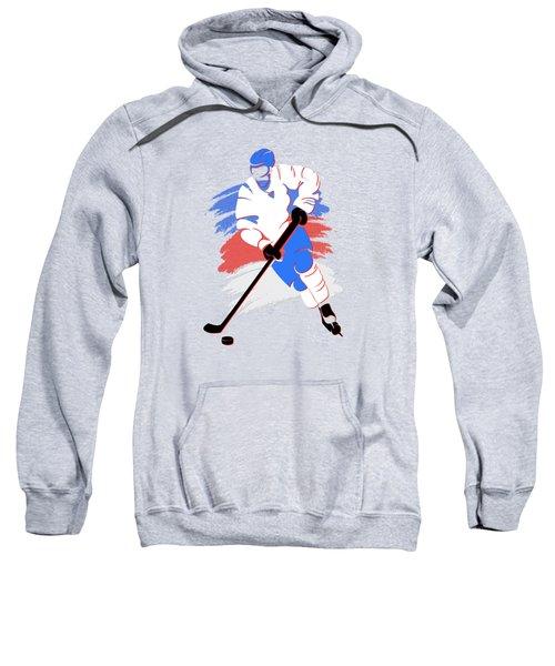 Quebec Nordiques Player Shirt Sweatshirt by Joe Hamilton