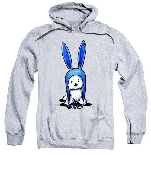 Rabbit Ears Westie Sweatshirt by Kim Niles