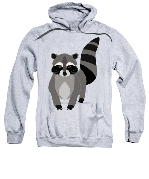 Raccoon Mischief Sweatshirt by Antique Images