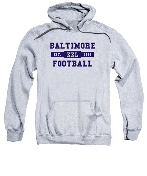 Ravens Retro Shirt Sweatshirt by Joe Hamilton