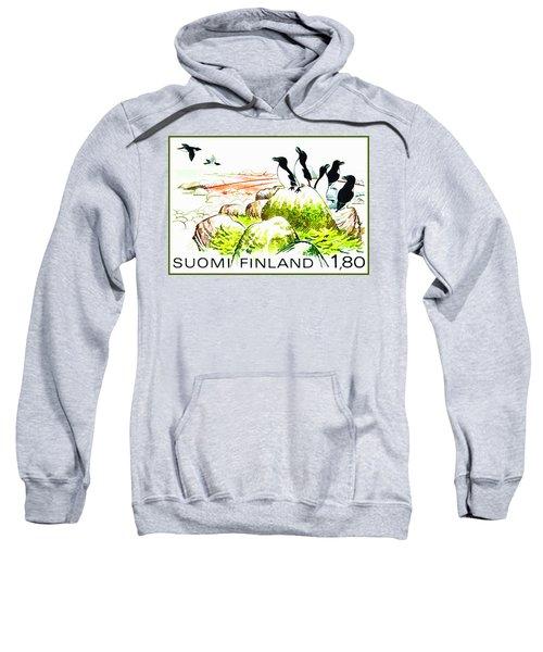 Razorbills Sweatshirt by Lanjee Chee