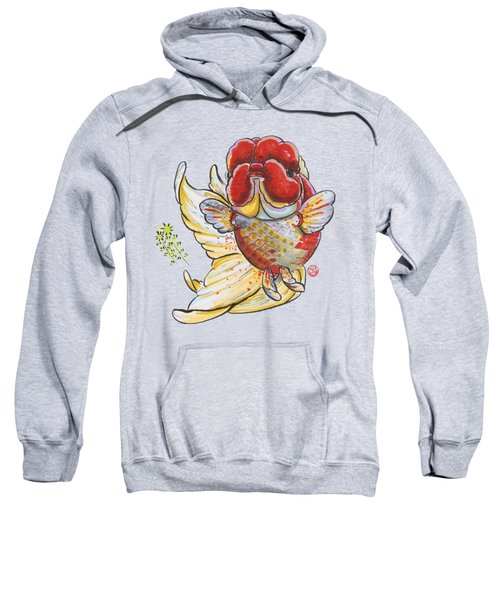 Red Oranda Sweatshirt by Shih Chang Yang