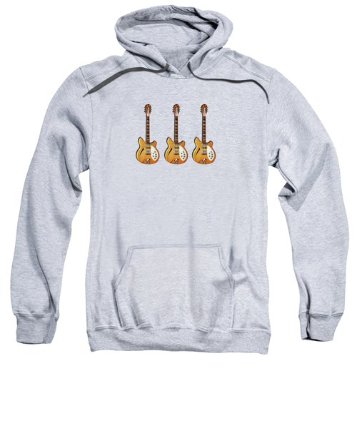 Rickenbacker 360 12 1964 Sweatshirt by Mark Rogan