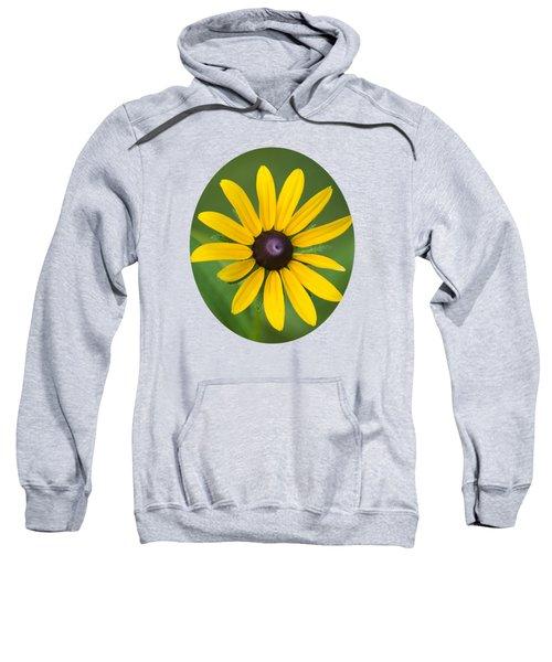 Rudbeckia Flower Sweatshirt by Christina Rollo