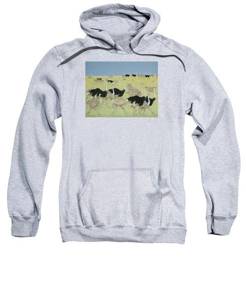 Rush Hour Sweatshirt by Pat Scott