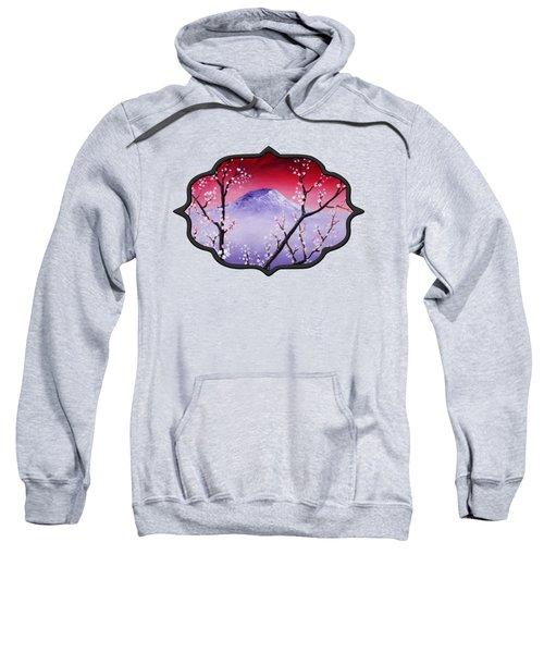 Sakura Sweatshirt by Anastasiya Malakhova