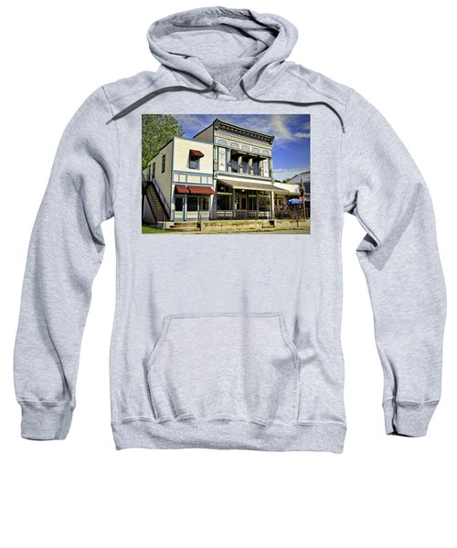 Samuel Hackmann Building Sweatshirt by Cricket Hackmann