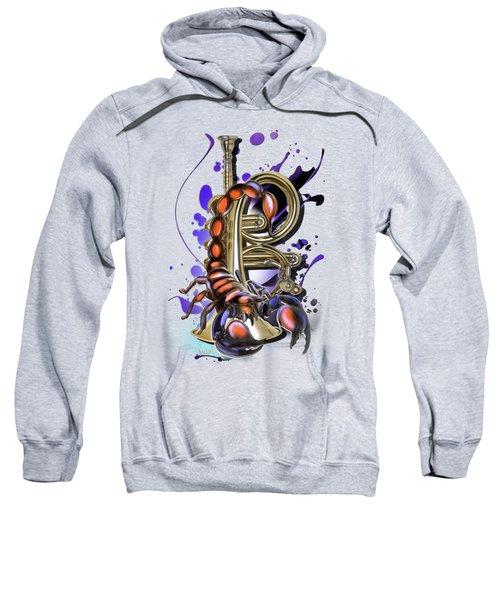 Scorpio Sweatshirt by Melanie D