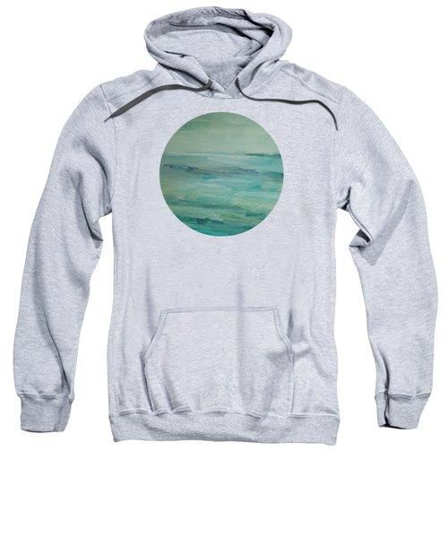 Sea Glass Sweatshirt by Mary Wolf
