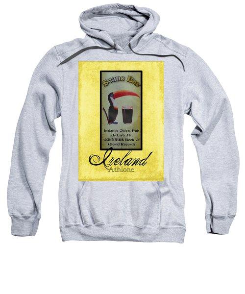 Seans Bar Guinness Pub Sign Athlone Ireland Sweatshirt by Teresa Mucha
