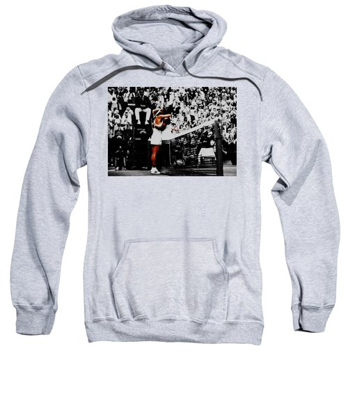 Serena Williams And Angelique Kerber Sweatshirt by Brian Reaves