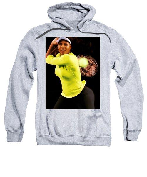 Serena Williams Bamm Sweatshirt by Brian Reaves