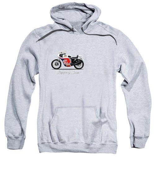 Slippery Sam Production Racer Sweatshirt by Mark Rogan