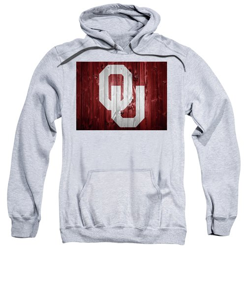 Sooners Barn Door Sweatshirt by Dan Sproul