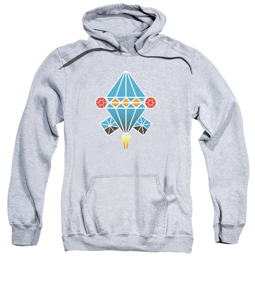 Spacecraft Sweatshirt by Gaspar Avila
