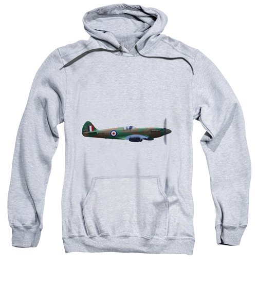 Spitfire Sweatshirt by Rob Lester Wirral