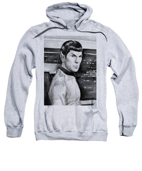 Spock Sweatshirt by Olga Shvartsur