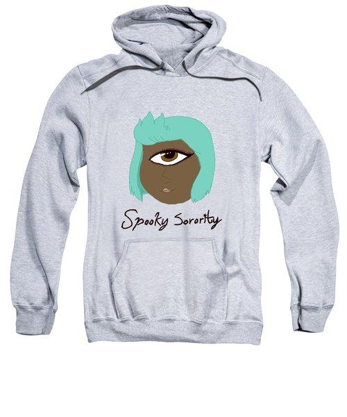 Spooky Sorority Character Monof Thalmos Sweatshirt by Brys Wigton