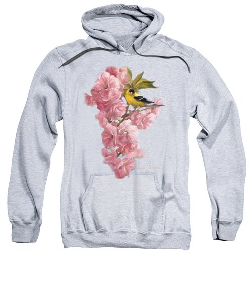 Spring Blossoms Sweatshirt by Lucie Bilodeau