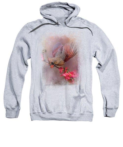 Spring Cardinal 2 Sweatshirt by Jai Johnson