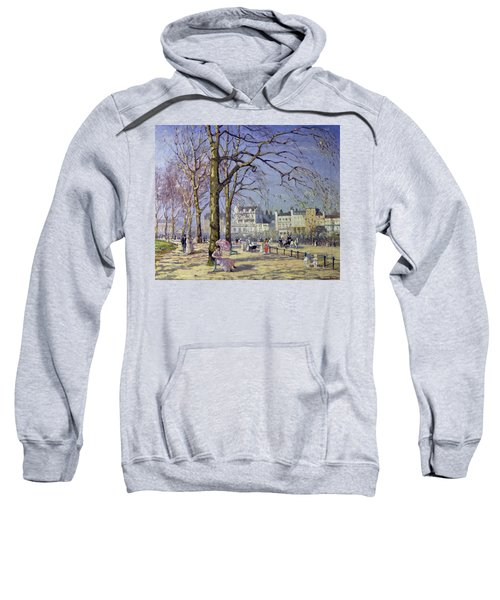 Spring In Hyde Park Sweatshirt by Alice Taite Fanner