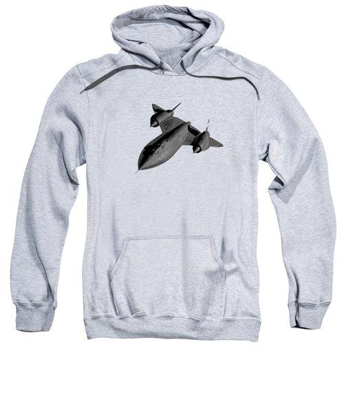Sr-71 Blackbird Flying Sweatshirt by War Is Hell Store