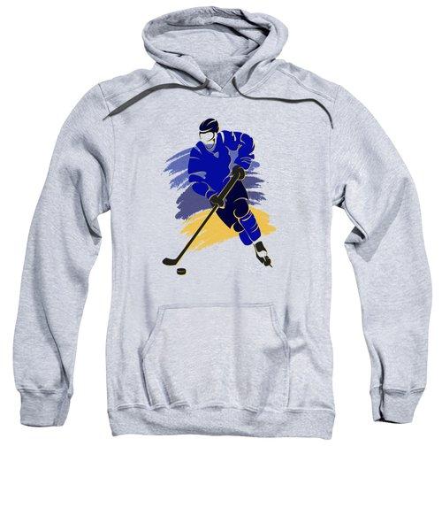St Louis Blues Player Shirt Sweatshirt by Joe Hamilton