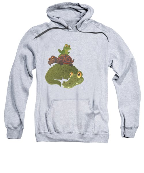 Swamp Squad Sweatshirt by John Schwegel