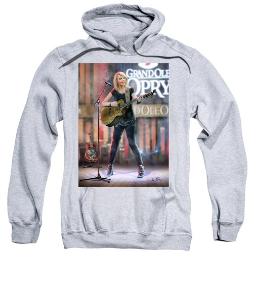 Taylor At The Opry Sweatshirt by Don Olea