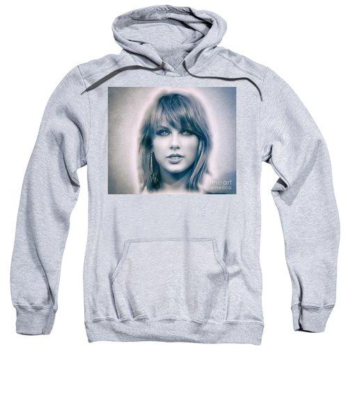 Taylor Swift - Beautiful Sweatshirt by Robert Radmore
