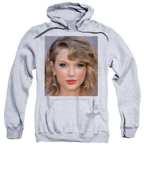 Taylor Swift Sweatshirt by Samuel Majcen