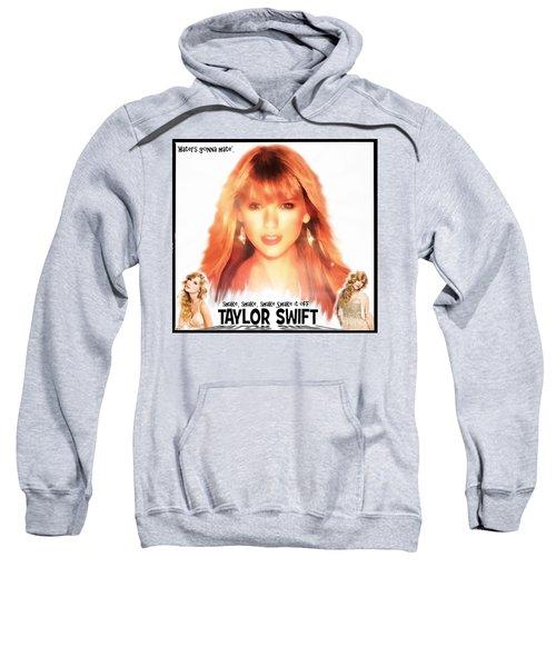 Taylor Swift - Stunning Sweatshirt by Robert Radmore