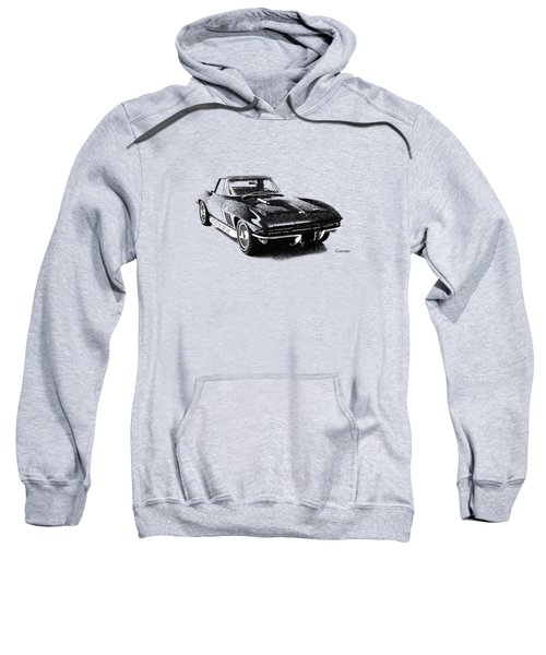 The 66 Vette Sweatshirt by Mark Rogan