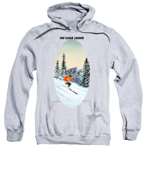 The Clear Leader Skiing Sweatshirt by Bill Holkham
