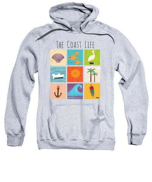 The Coast Life Sweatshirt by Kevin Putman