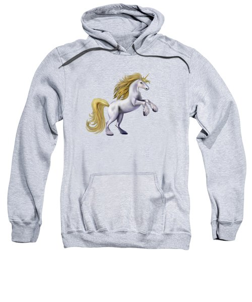 The Golden Unicorn Sweatshirt by Glenn Holbrook