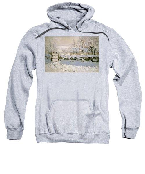 The Magpie Sweatshirt by Claude Monet