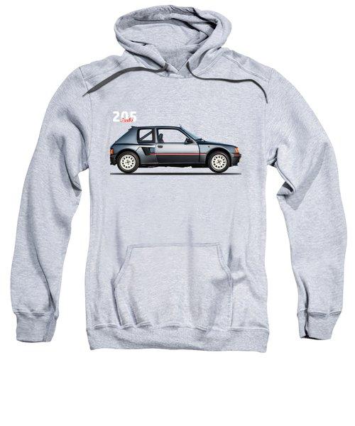 The Peugeot 205 Turbo Sweatshirt by Mark Rogan