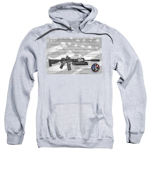 The Right To Bear Arms Sweatshirt by Daniel Hagerman