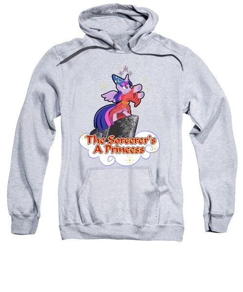 The Sorcerer's A Princess Sweatshirt by J L Meadows