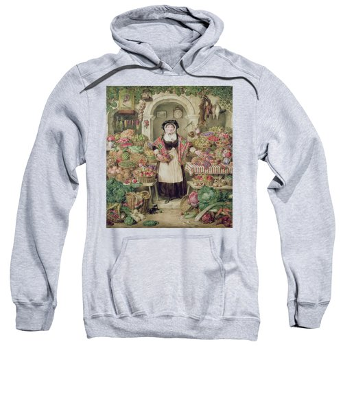 The Vegetable Stall  Sweatshirt by Thomas Frank Heaphy