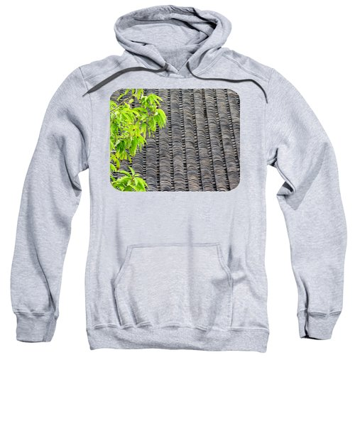 Tiled Roof Sweatshirt by Ethna Gillespie
