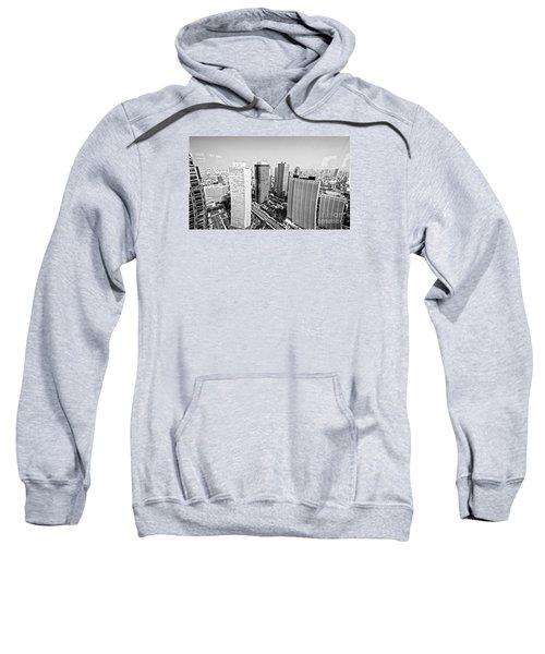 Tokyo Skyline Sweatshirt by Pravine Chester