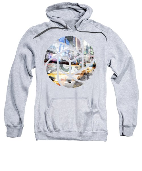 Trendy Design Nyc Geometric Mix No 9 Sweatshirt by Melanie Viola