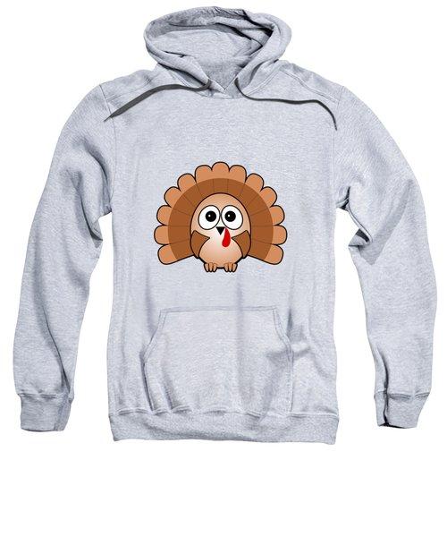 Turkey - Birds - Art For Kids Sweatshirt by Anastasiya Malakhova