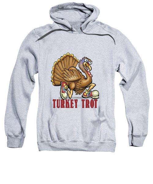 Turkey Trot Sweatshirt by Kevin Middleton