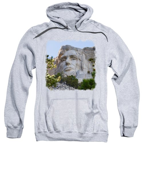 Unfinished Lincoln 3 Sweatshirt by John M Bailey