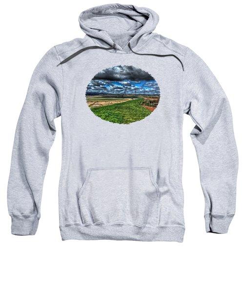 Van Duzer Vineyards View Sweatshirt by Thom Zehrfeld