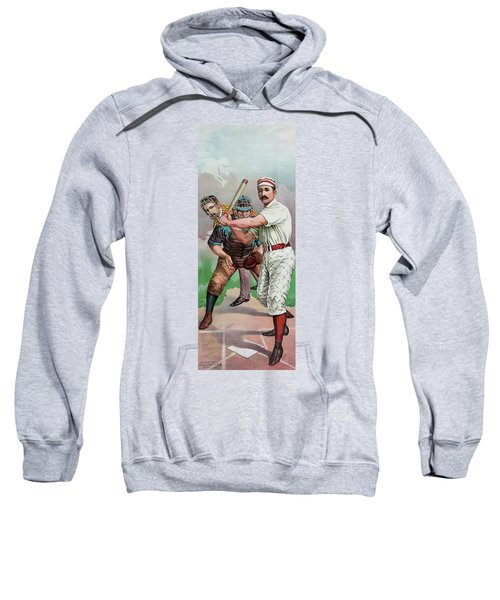 Vintage Baseball Card Sweatshirt by American School