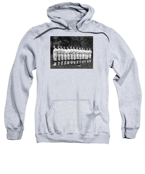 Vintage Photo Of Women's Baseball Team Sweatshirt by American School